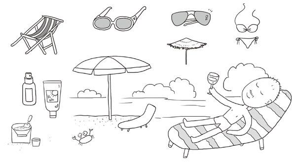 关键词2:呆萌宠物 夏日的午后,属于懒散的宠物和昏昏欲睡的我们.