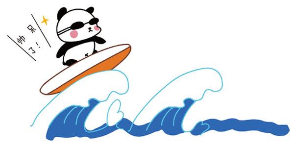 海边贝壳海星简笔画有意境