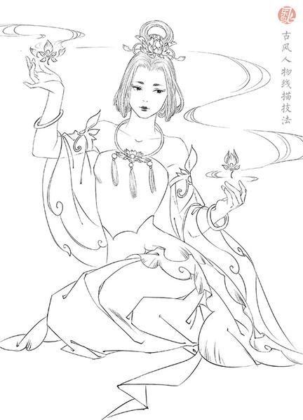 【终】                 《绘漫画·古风人物线描技法》 飞乐鸟工作